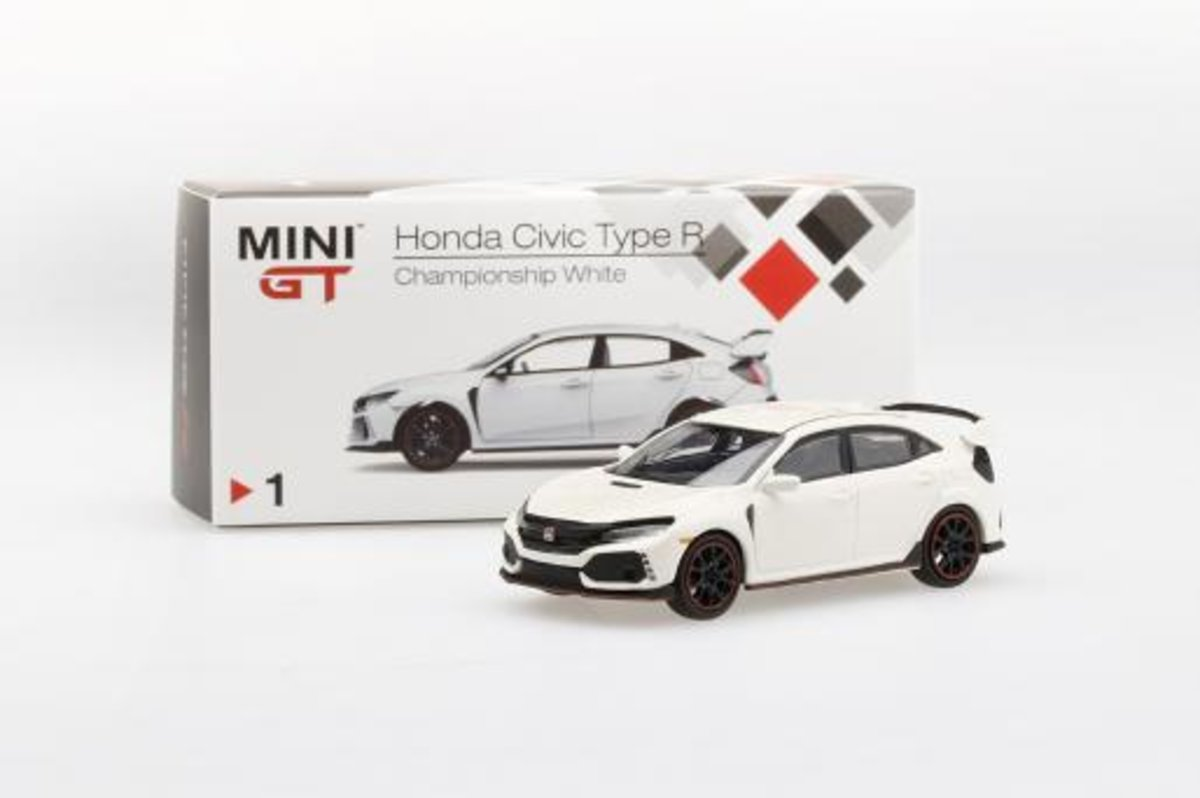 TINY MINI GT 1/64 MGT00001-L Honda Civic