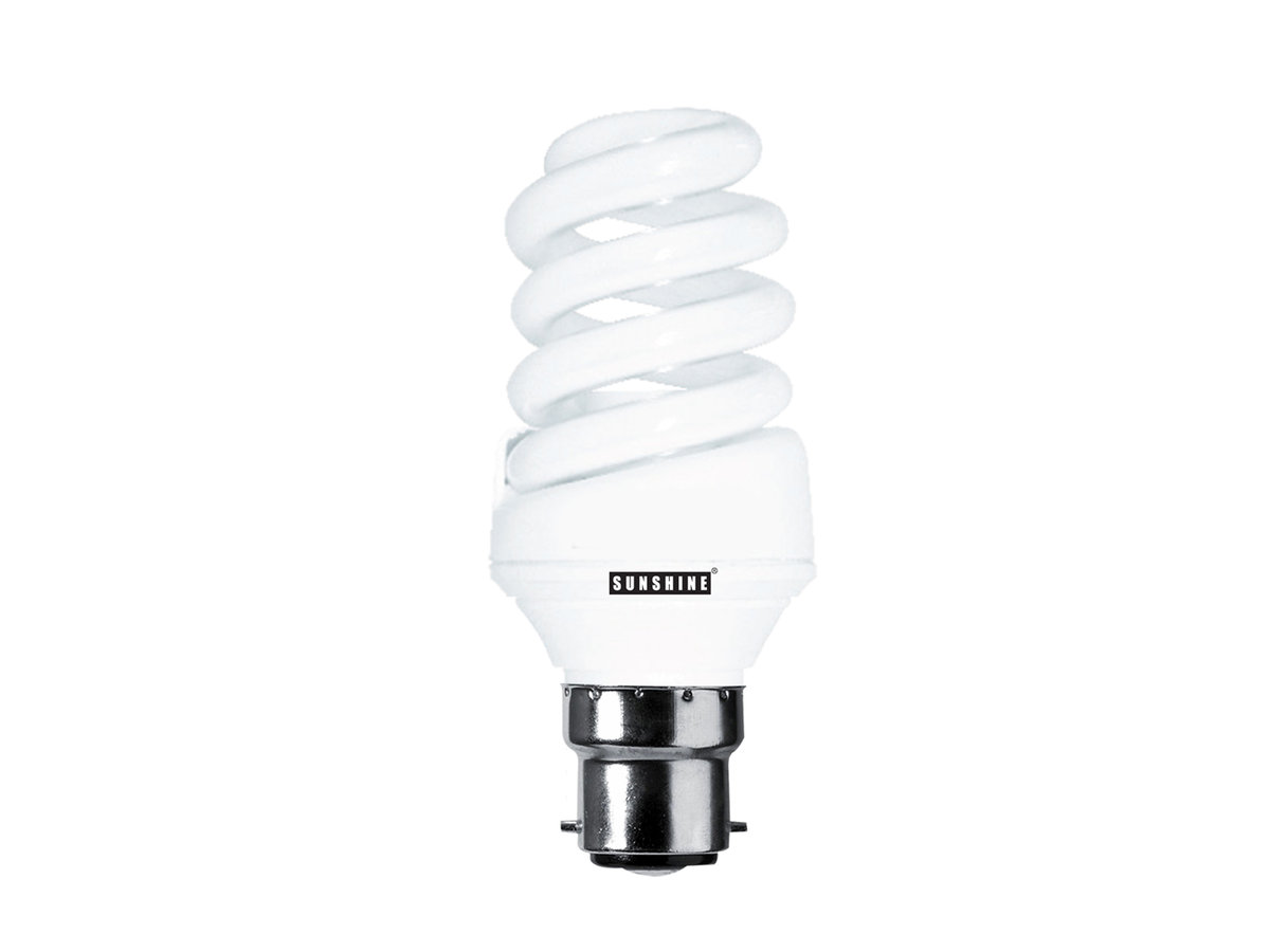 CFL Spiral 15W (B22 Daylight) 2 in 1 Value Pack