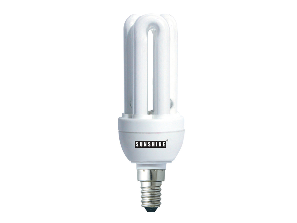CFL U-Tube 11W (E14 Daylight) 2 in 1 Value Pack