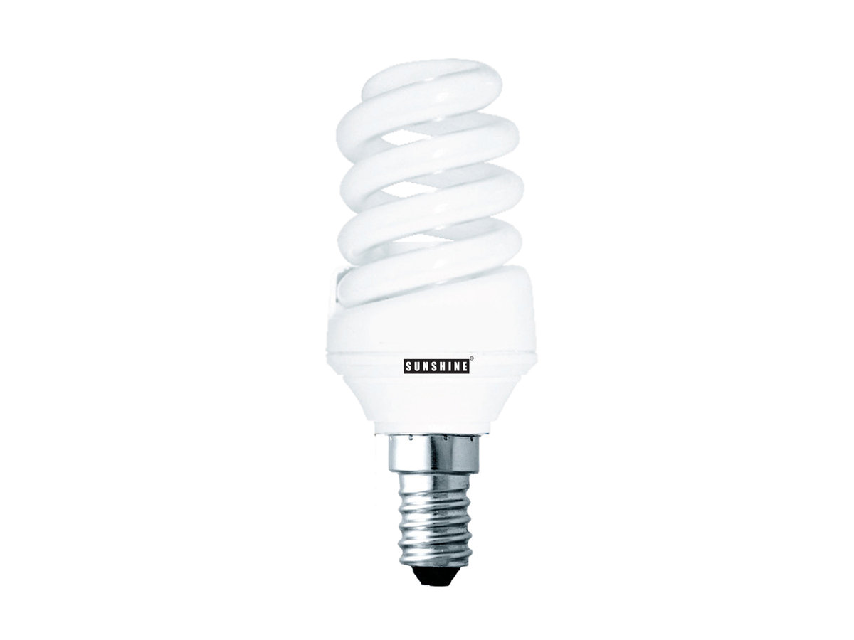 CFL Spiral 15W (E14 Daylight) 2 in 1 Value Pack