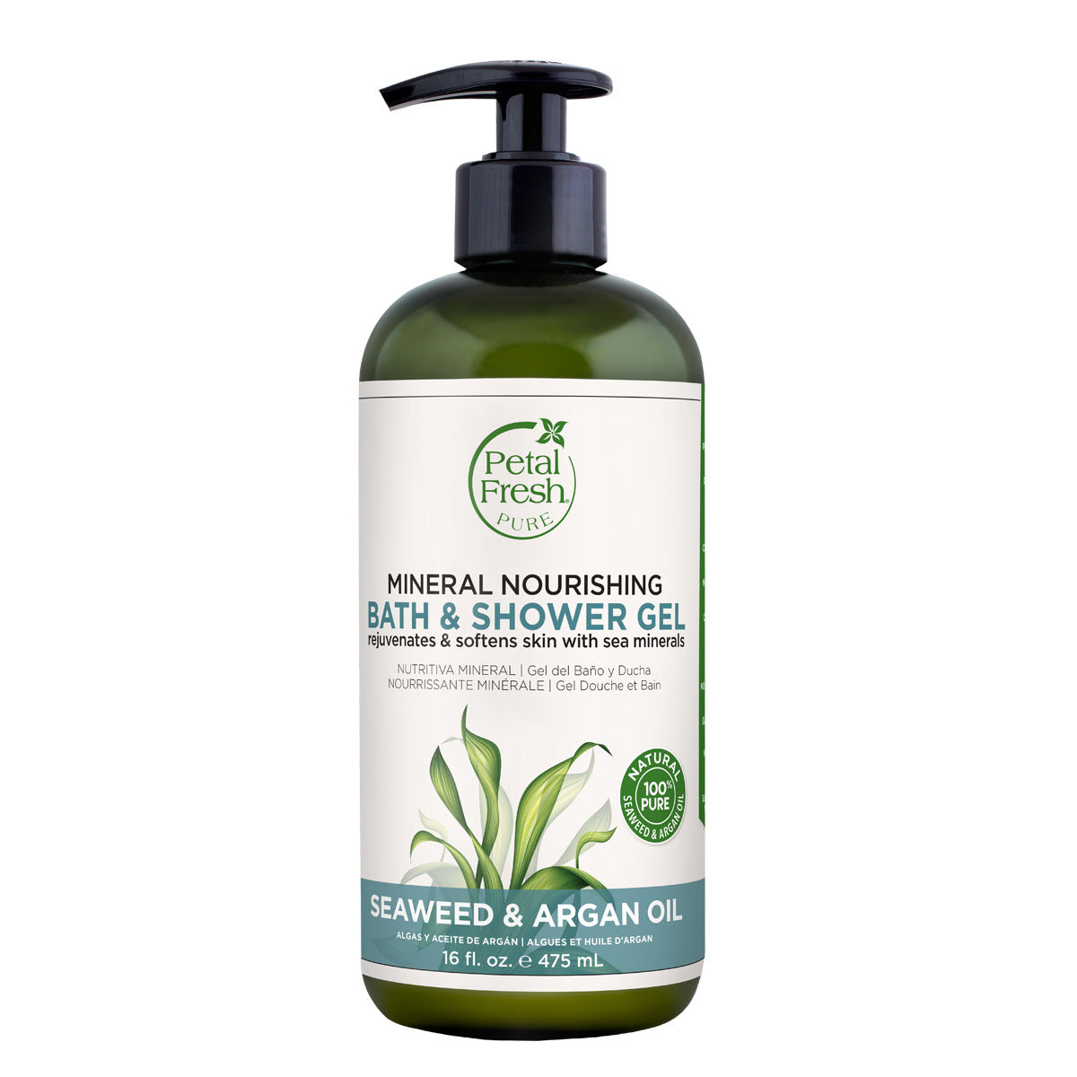 PF Seaweed & Argan Oil Bath & Shower Gel