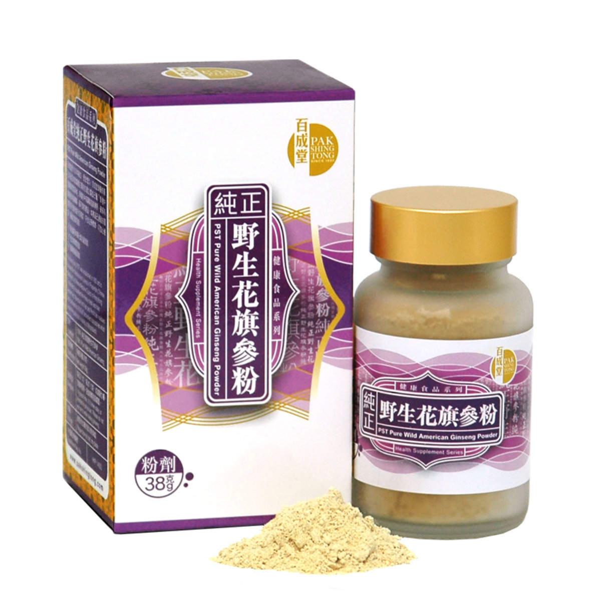 Pure American Ginseng Powder (38g)