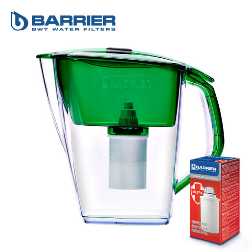 【Grand Neo】4.2L Water Pitcher(Green) + 1pc Standard Cartridge + 1pc 'Ultra' Cartridge