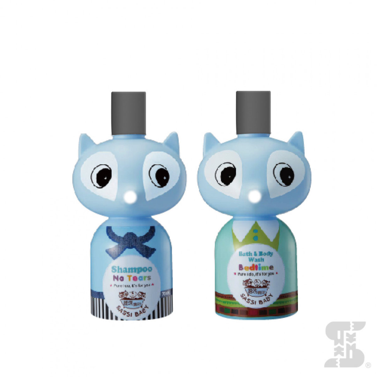 Travel pack bath & shampoo set (Boy) 50ml