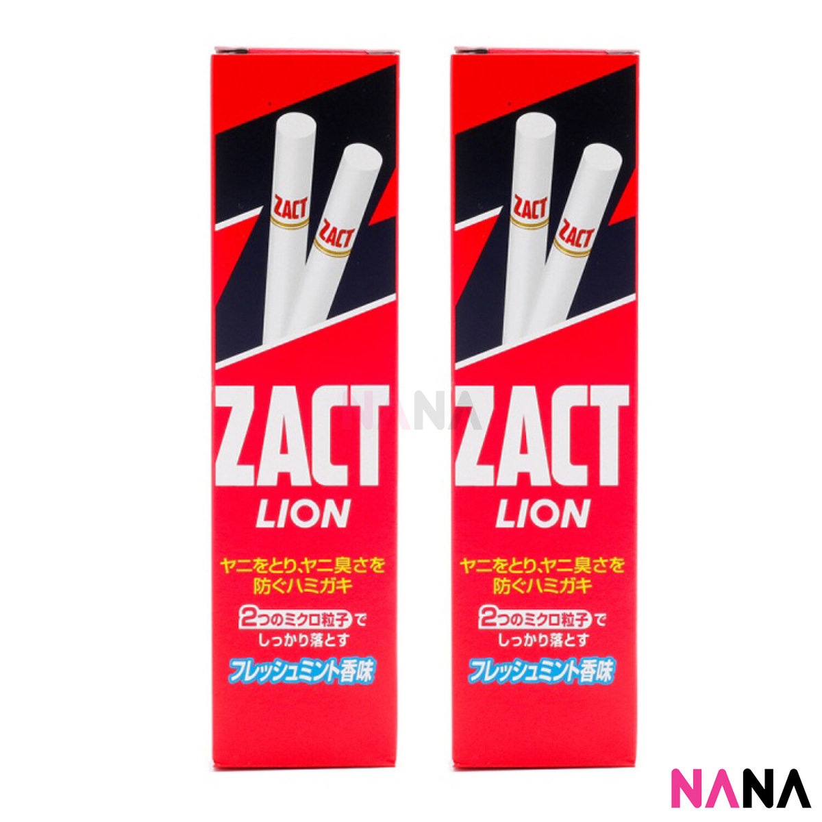 Zact Toothpaste for Smoker 150g x 2pcs
