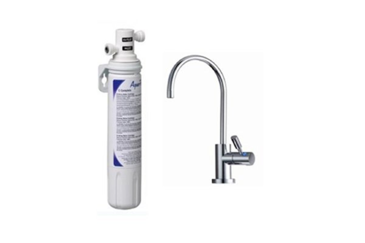 3M AP Easy Complete Water Filter System with LED FAUCET-ID1