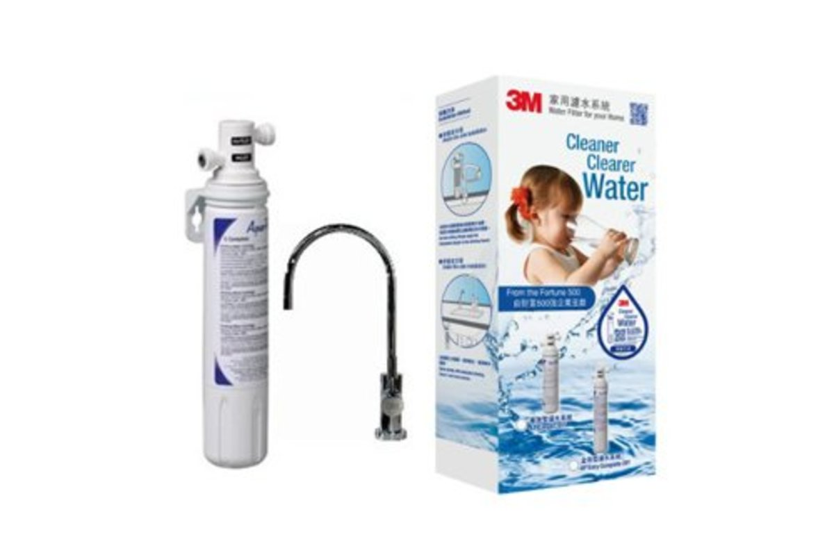 3M AP Easy Complete Water Filter System with FAUCET-ID3