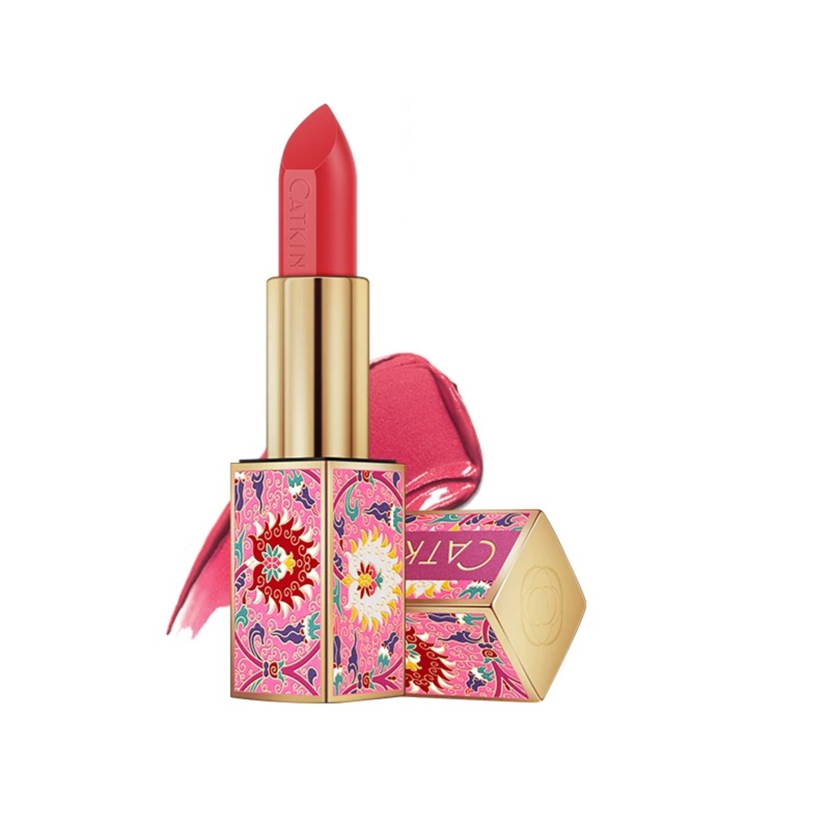 CATKIN Magnet Sheer Lipstick (Limited Edition) - Carmine Rose