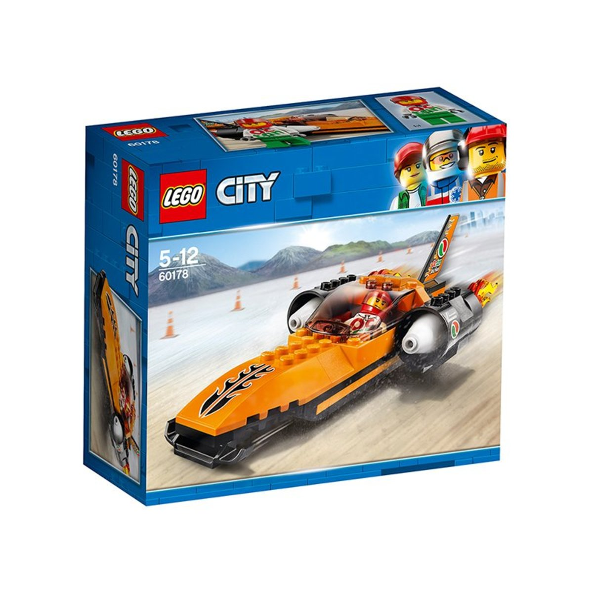 60178 CITY GREAT VEHICLES SPEED RECORD