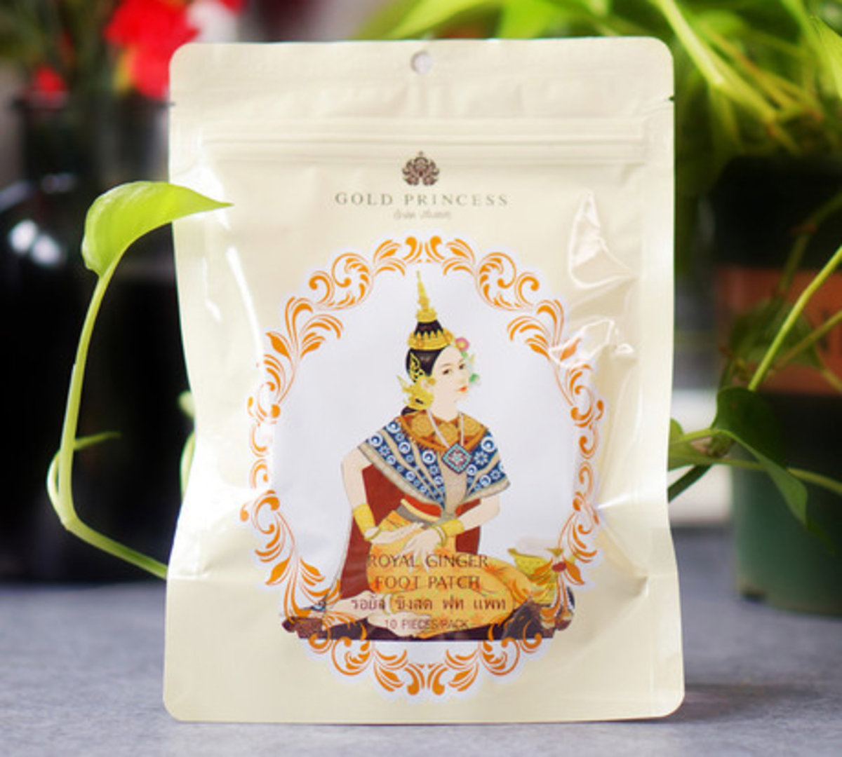 Royal Detoxification Foot Patch (Ginger)