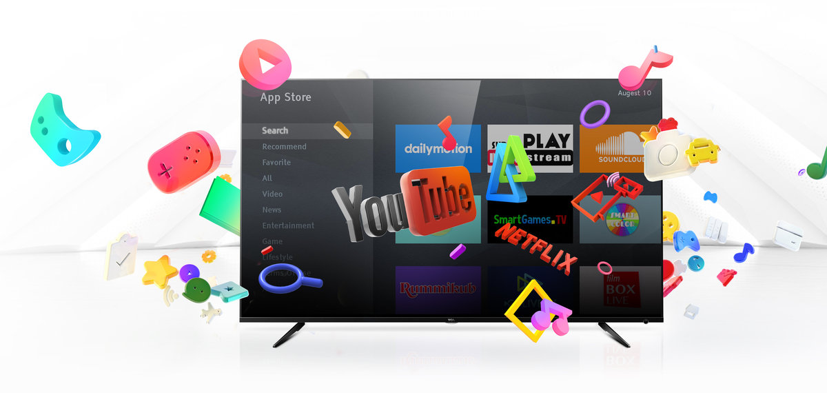 4K UHD Android™ Smart TV with Dolby™ Audio - 55P6US