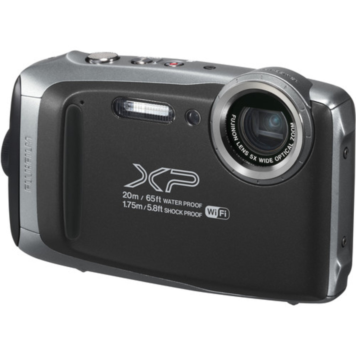 FinePix XP130 Digital Camera - [Dark Silver] - Parallel imported