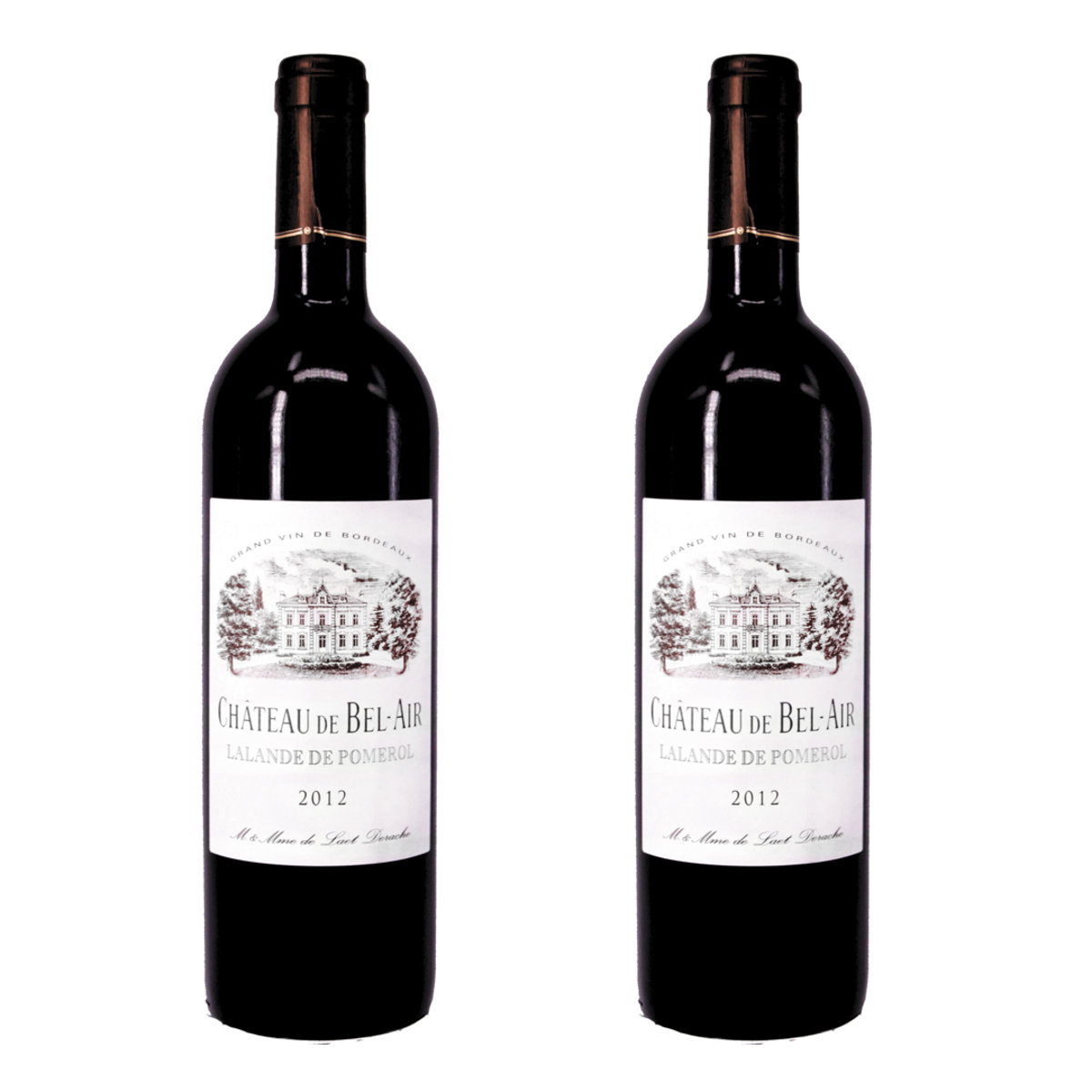 [瘋狂MORE Dollar]Chateau De Bel-Air 2012,Pessac Leognan 2支裝