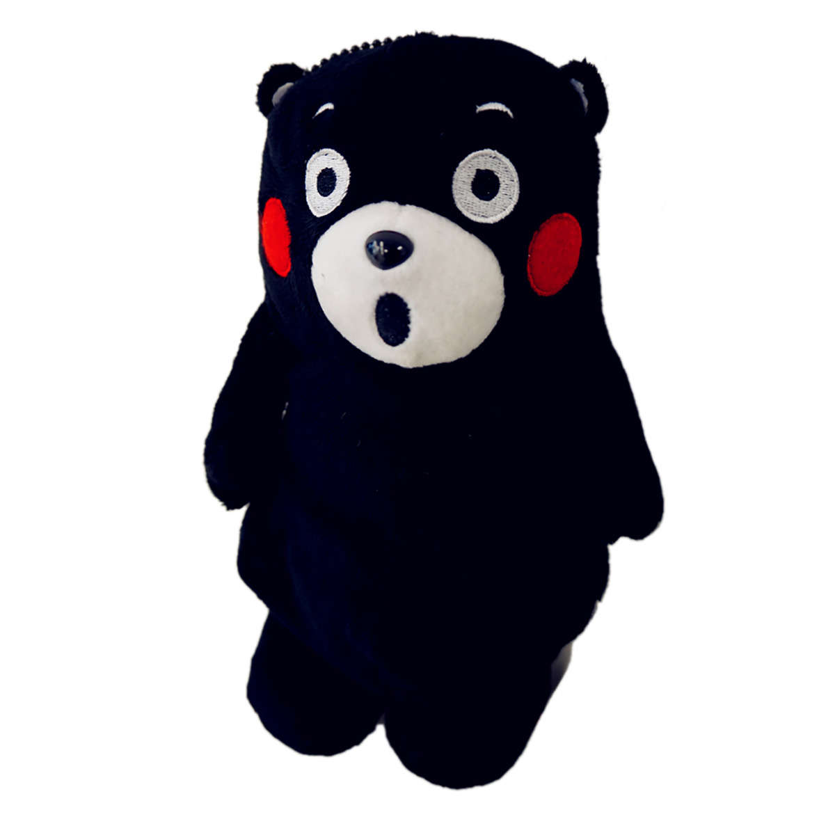 Kumamon Shocked Face Zipped Doll