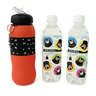 Kumamon Sports Water Bottle (650ml) + KONOHA Natural Mineral Water from Kumamoto (500ml x 2)