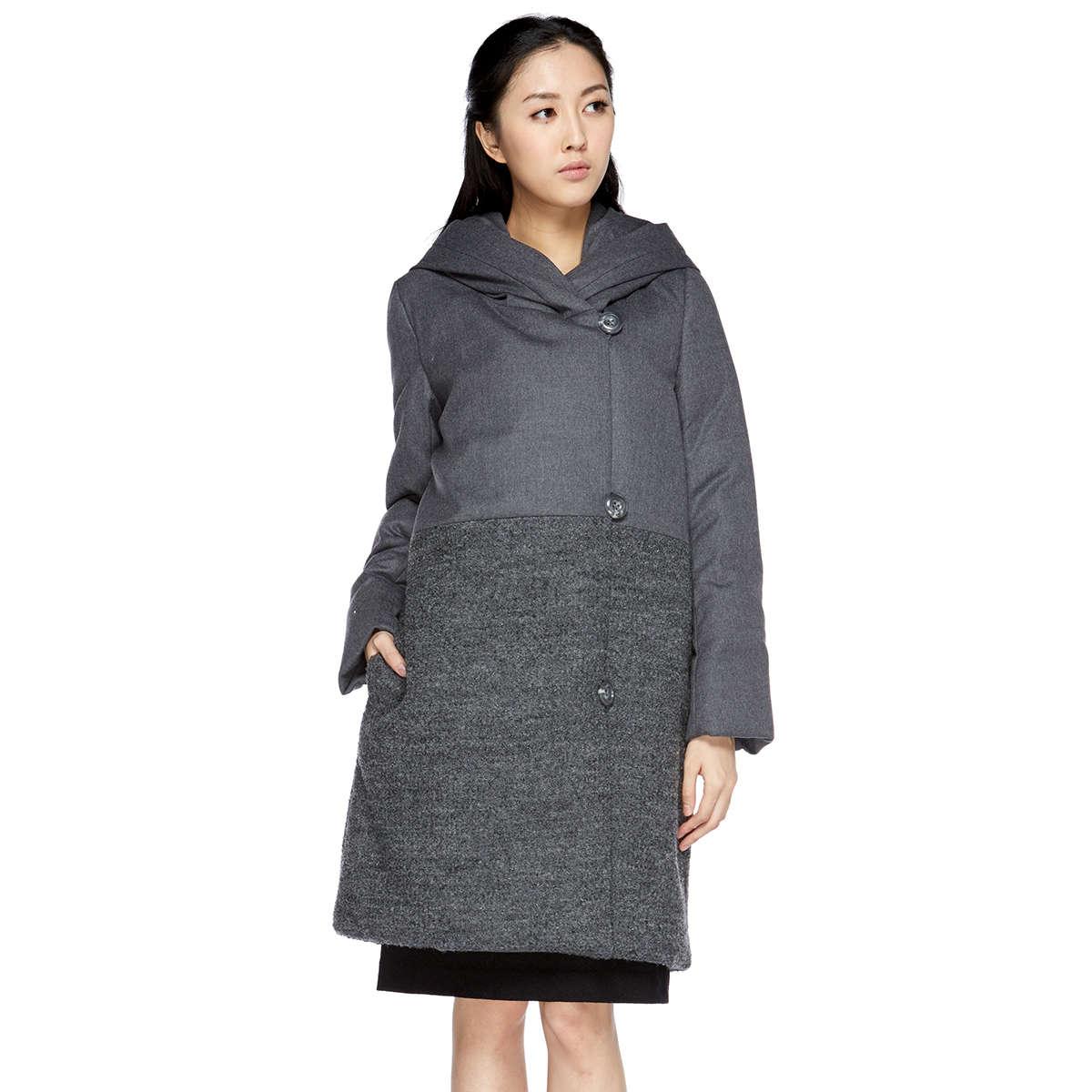 Flannel combi design coat