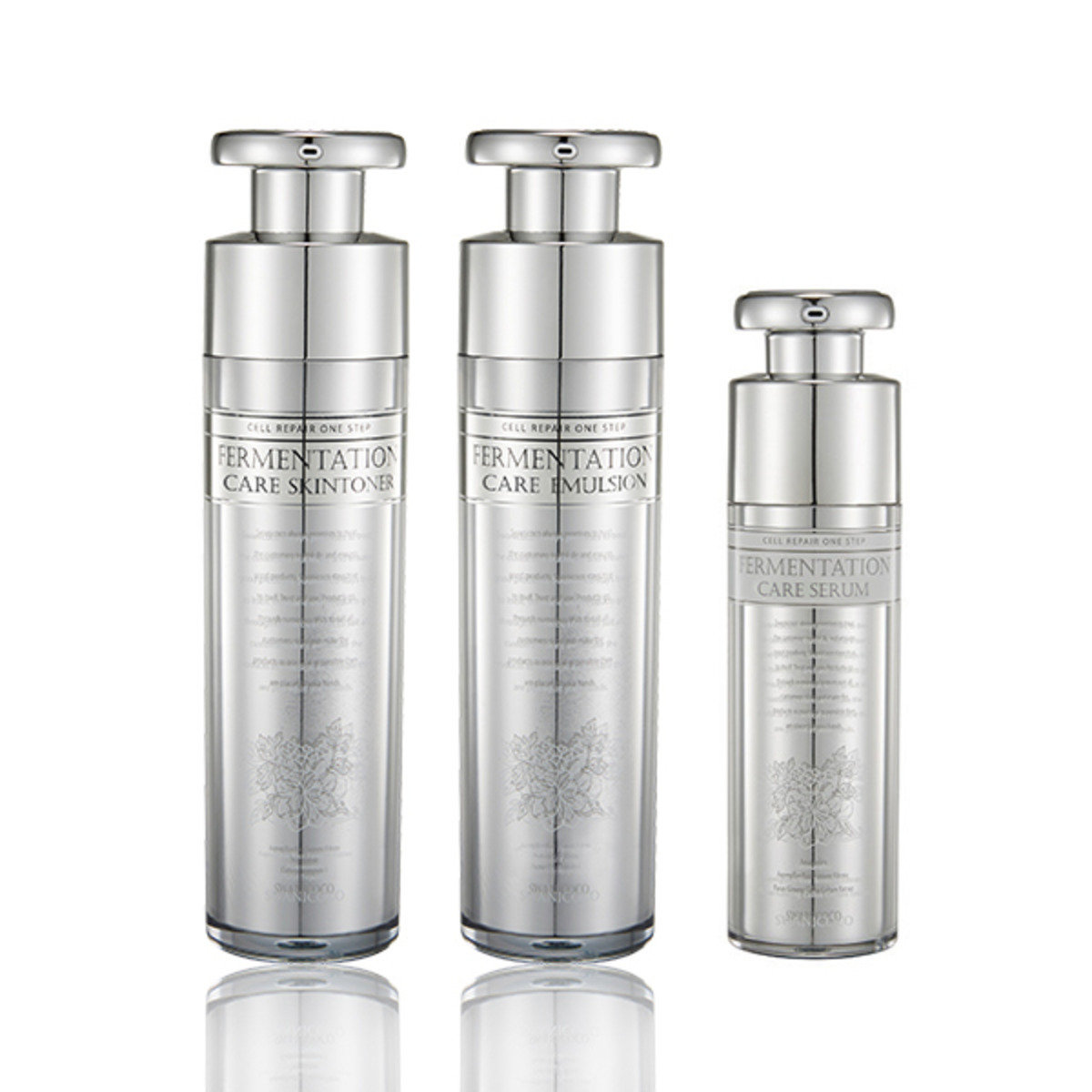 Fermentation Care Silver Skintoner &  Emulsion &  Serum