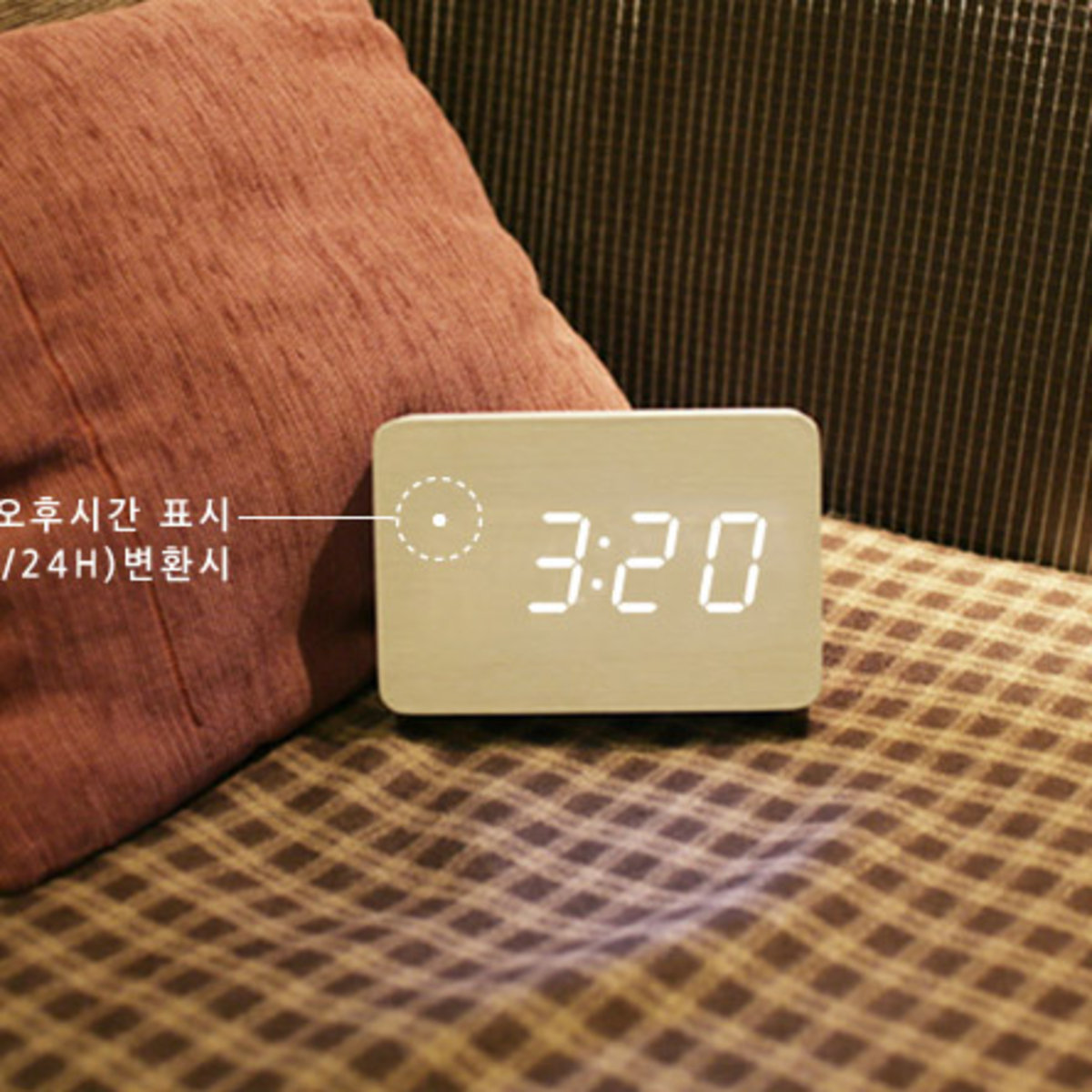 HICKIES LED Alarm clock Zen Block_100542