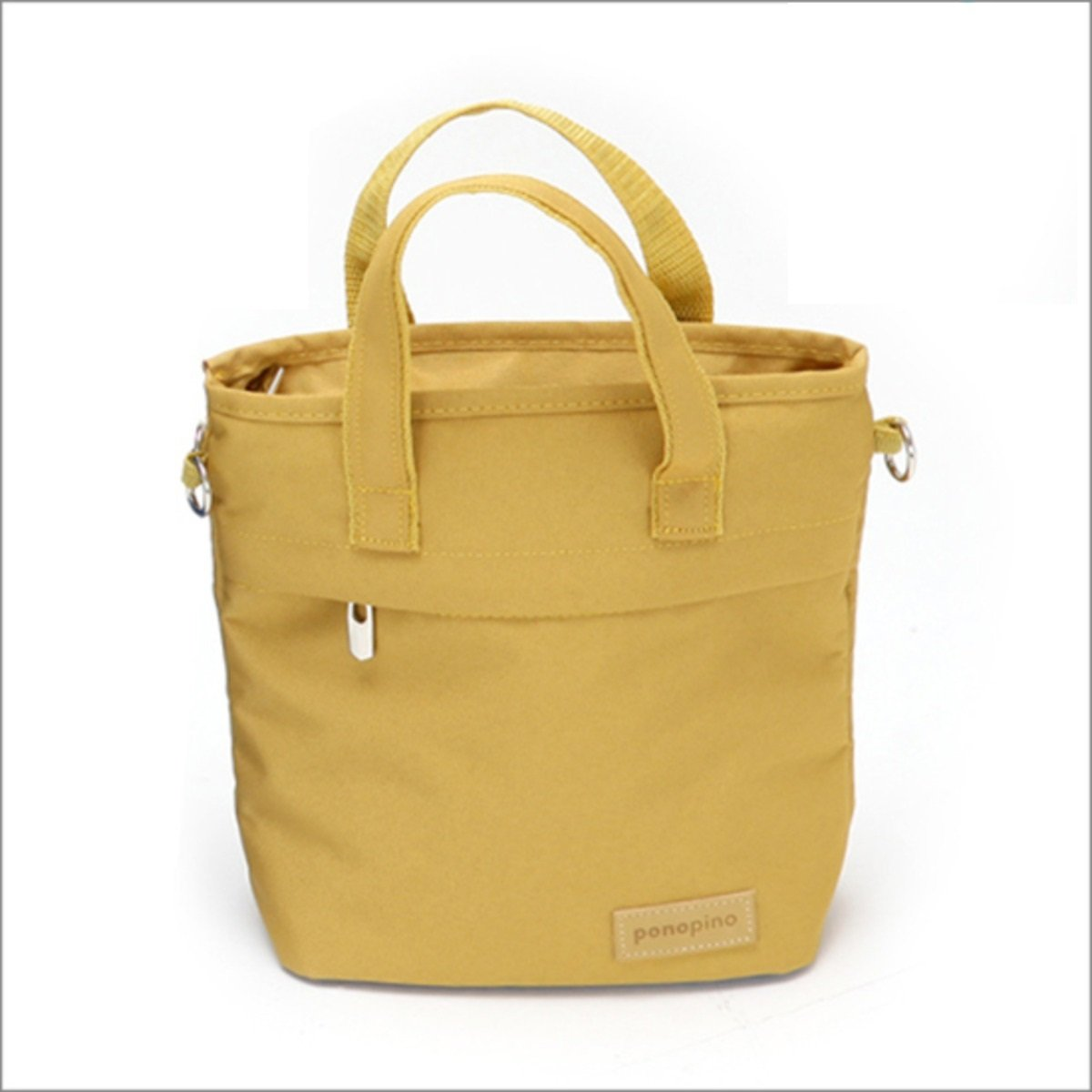Ponopino messenger bag Mustard_Messenger2