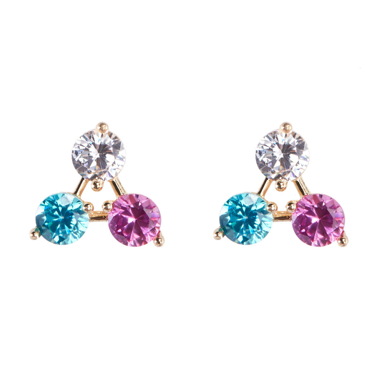 Colorful earring (Single piece)_FE4795