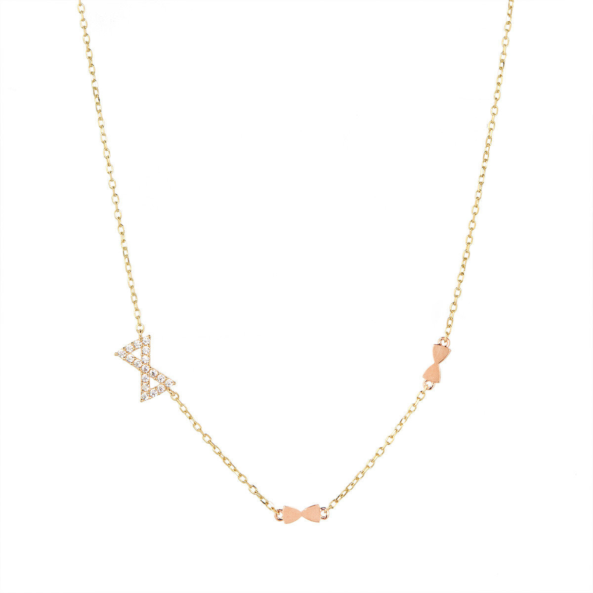 Three-ribboned necklace_FP1237