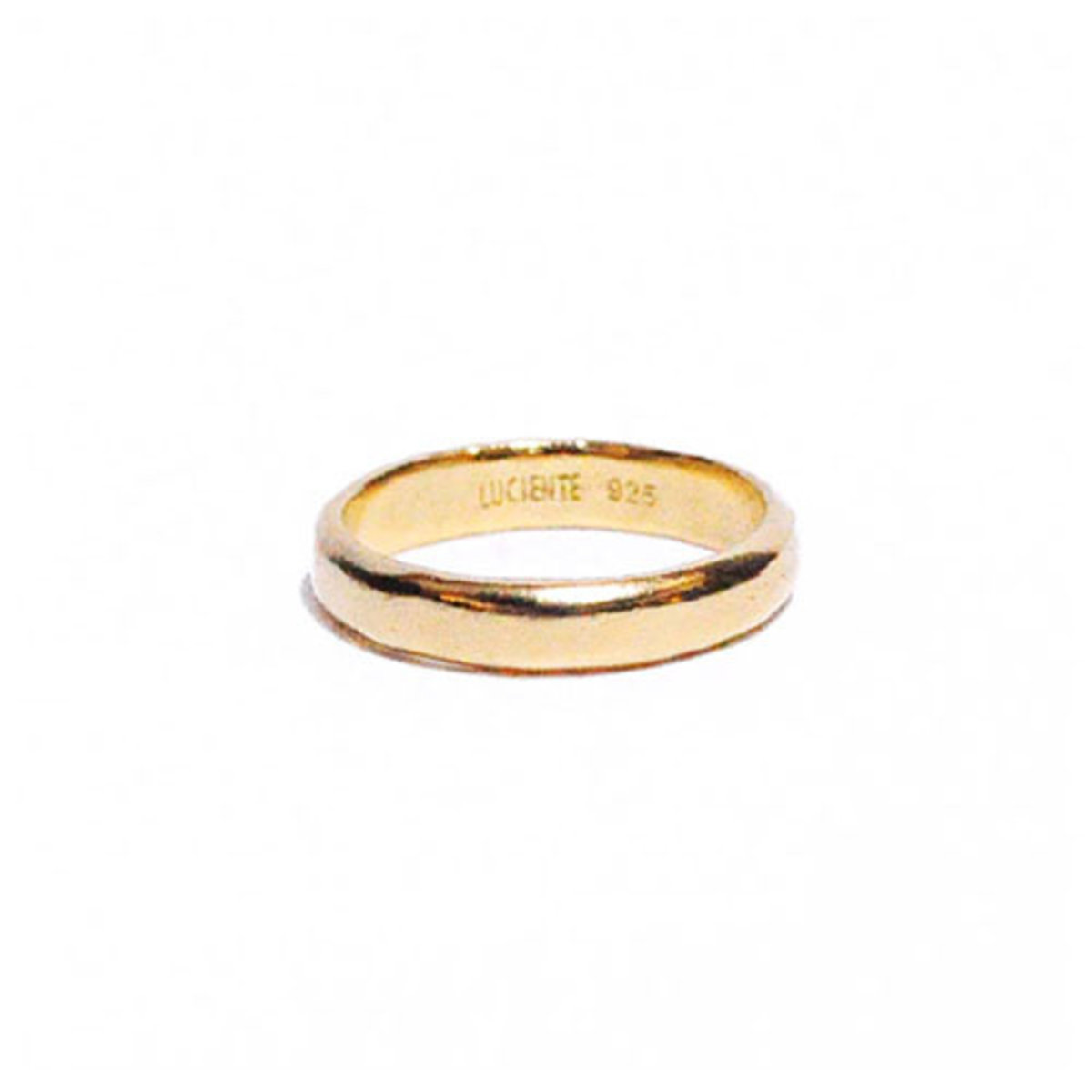 plump simple ring - gold