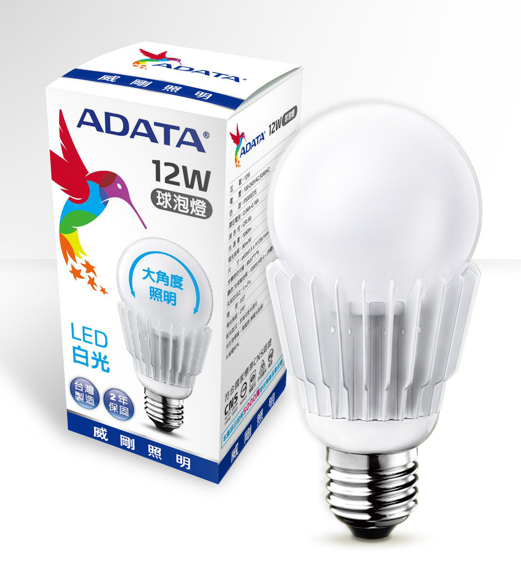 ADATA LED Bulb 12W 5000K Daylight