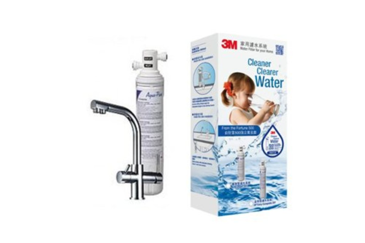 AP Easy Complete Water Filter System with LED FAUCET-J [Not included Installation Service]