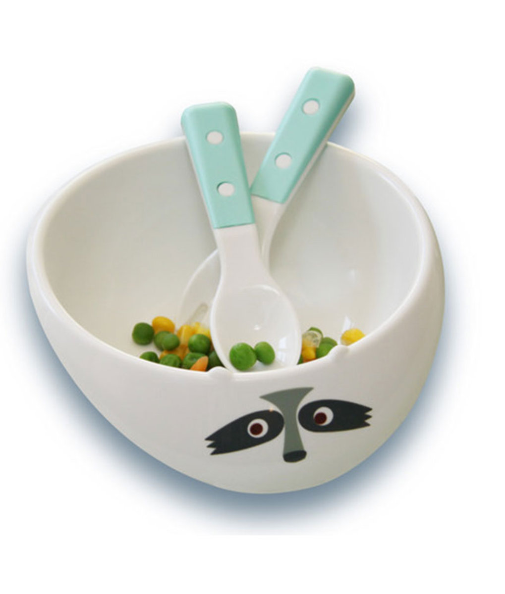 Gift Set - Bowl & Utensil s- Blue