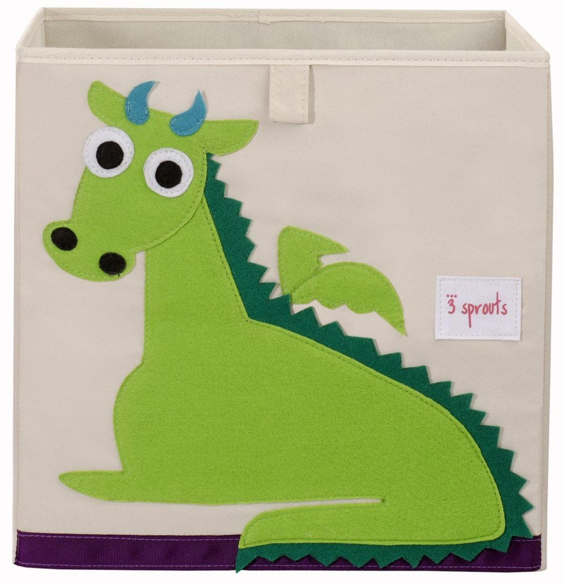 3 Sprouts Storage Box - Green Dragon