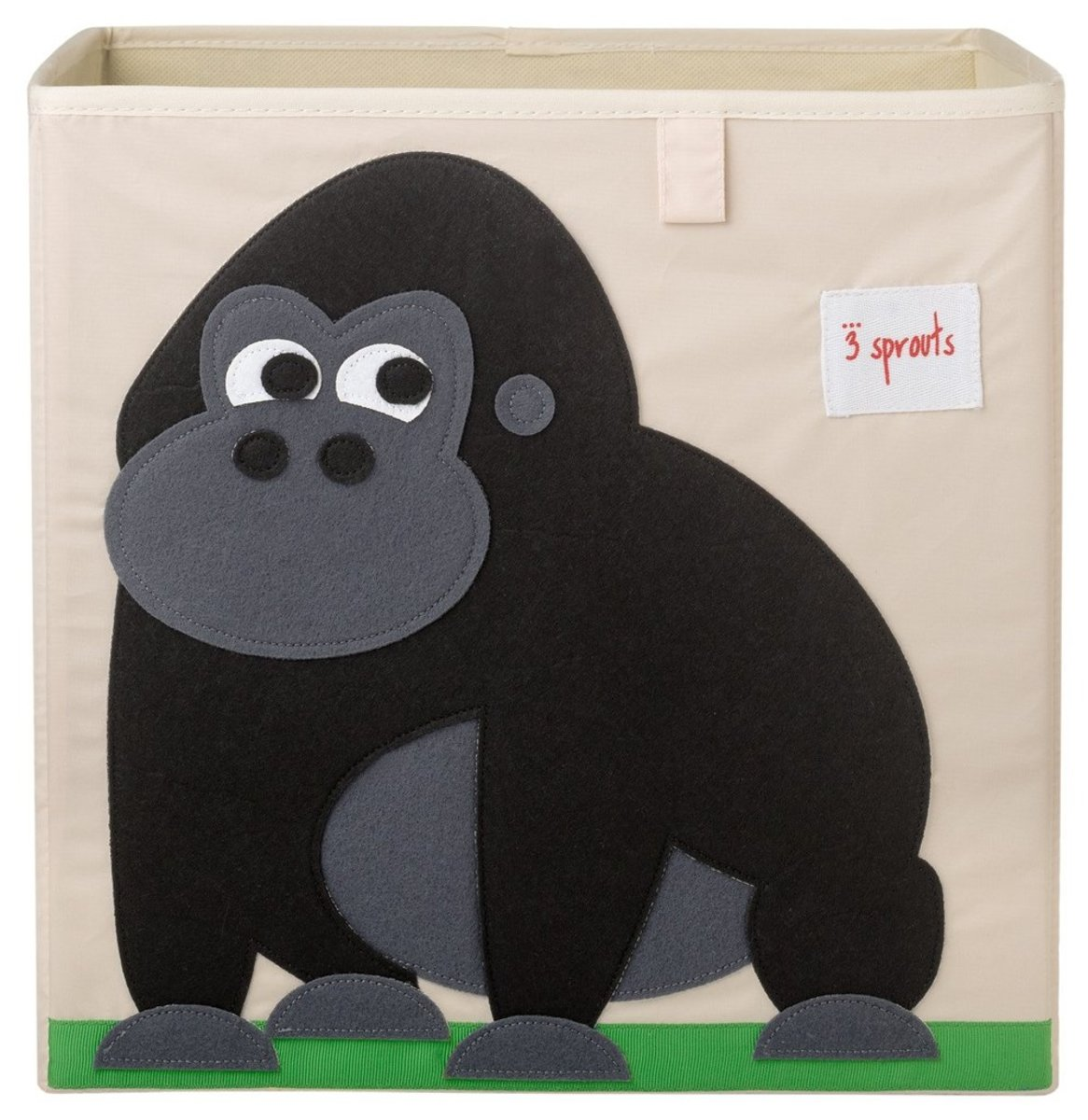 3 Sprouts Storage Box - Black Gorilla