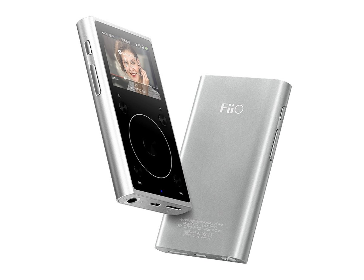 X1II -(FX1221) 2ND MP3 PLAYER -SILVER