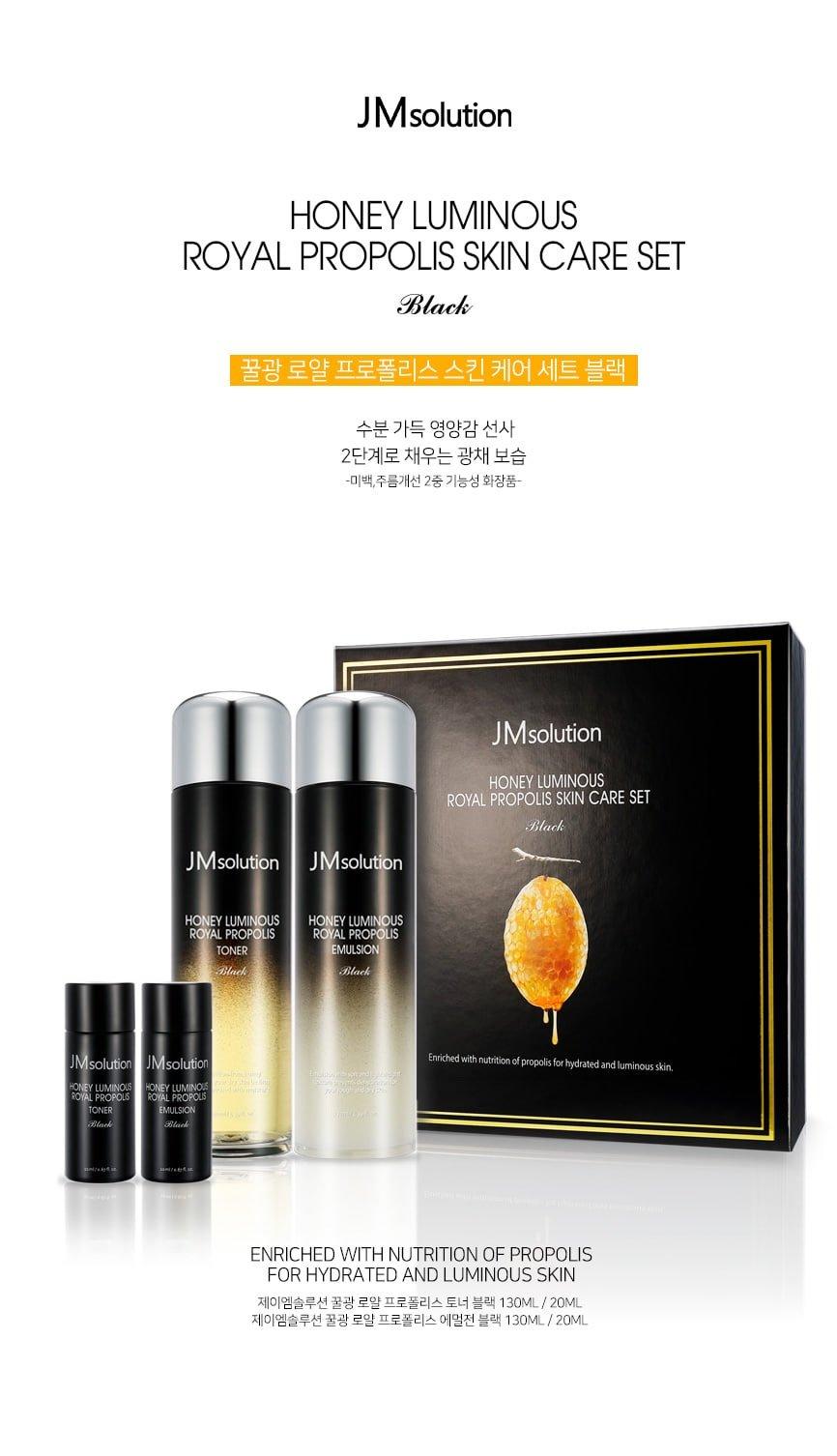 J M Solution   J M Solution Honey Luminous Royal Propolis