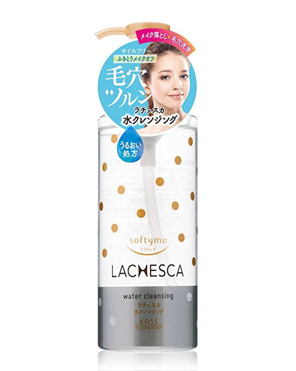 Kose Softymo LACHESCA Make Up Remover Cleansing Water230ml (Japanese Version)
