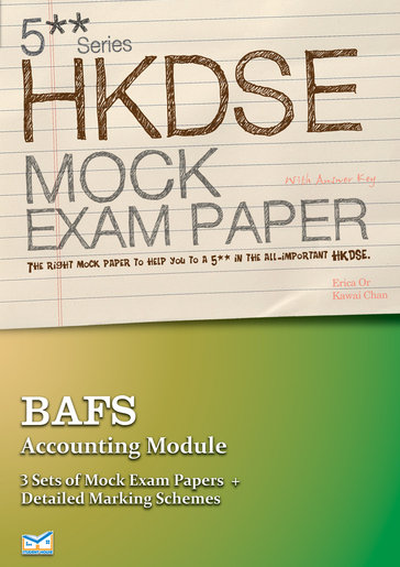 Student House 5 DSE Mock Paper BAFS Accounting Module