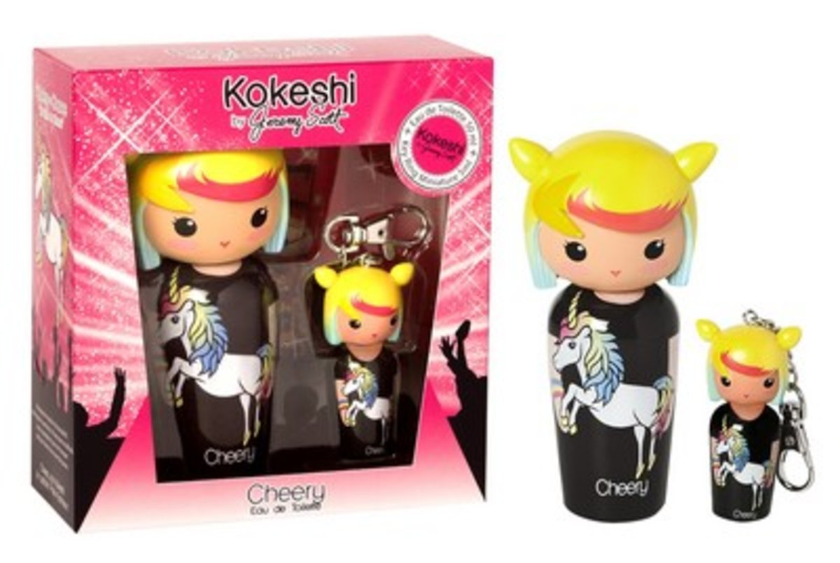 Kokeshi by JS EDT Set - 50ml Cheery + 5ml Mini Keyring