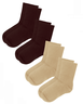 Mid Height Non-Binding Socks - 4 pairs
