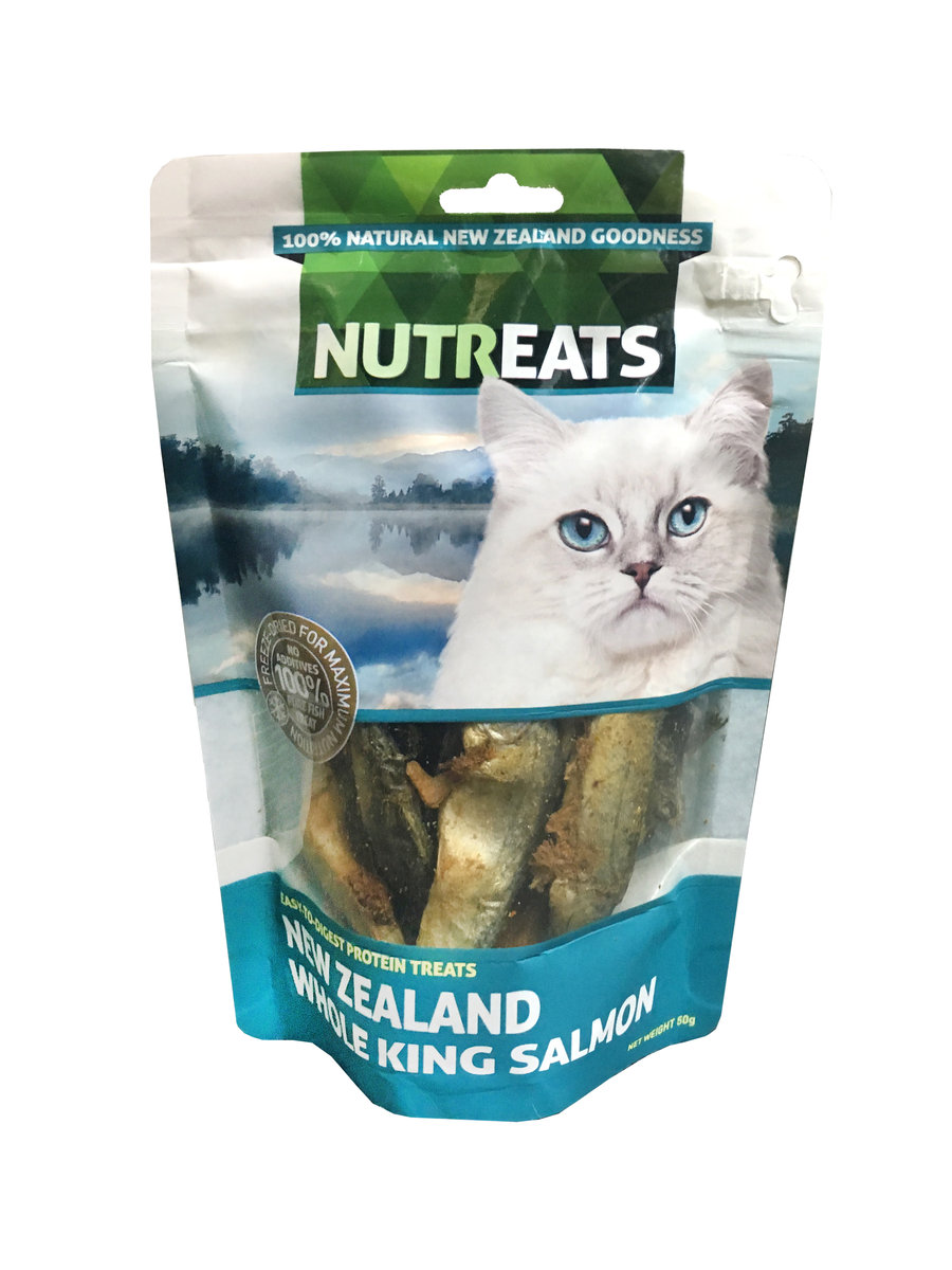 Freeze Dried Whole King Salmon (For Cats) 50g