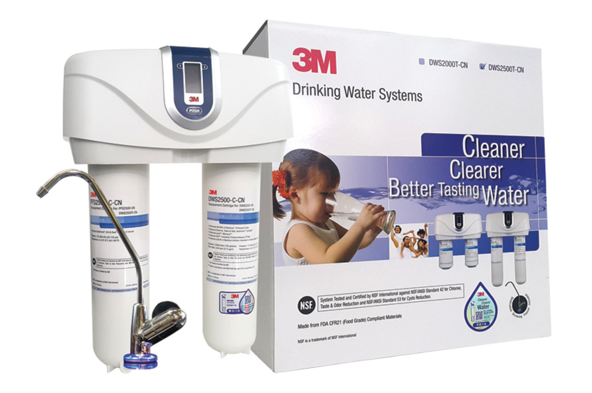 3M Water Filter DWS2500T Bundle