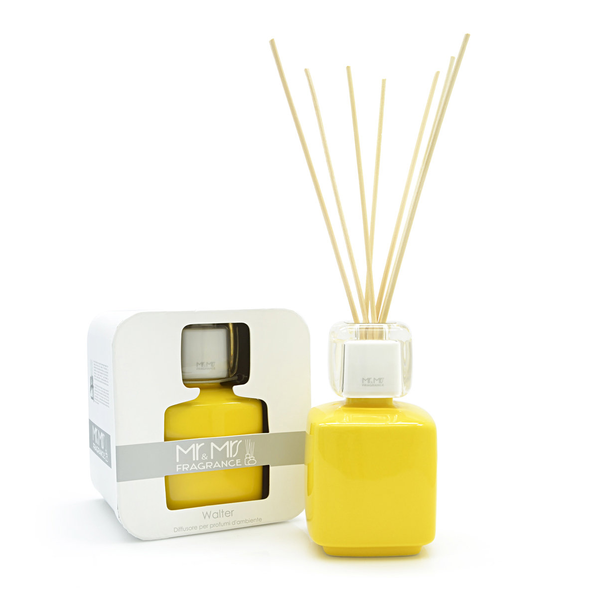 WALTER Ceramic Fragrance Diffuser - Yellow