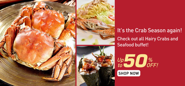 Monthly Special! It's Crab-Season!