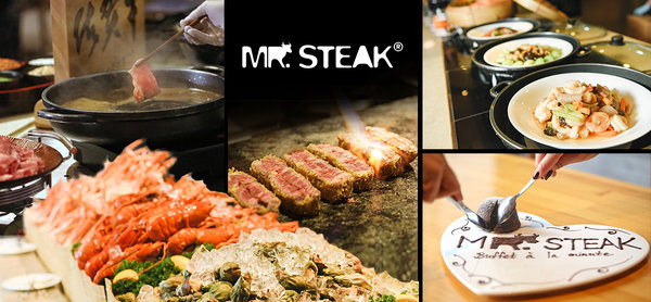 (CWB) Mr. Steak Buffet a la minute Limited Offer US, Korea & Japan Wagyu Dinner Buffet w/ $50 Cash Voucher. Mon to Sun & 2 Sessions Available.